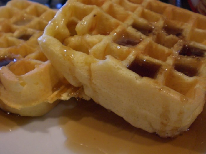 The Most Delicious Waffles!